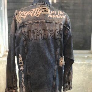 592915f6a843 Jackets   Blazers - Oversized denim Jacket